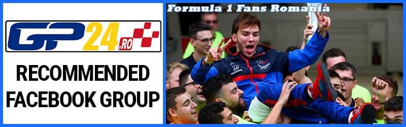 Groups Banner F1 Fans RO