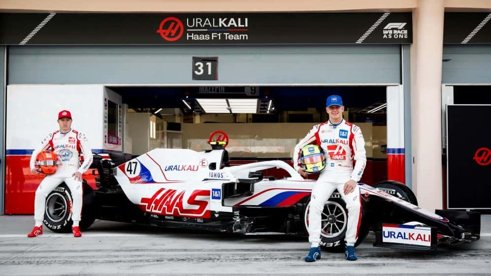 Echipa Haas F1 2021