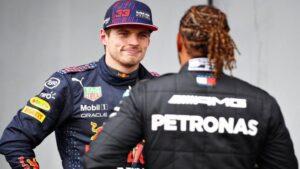 Verstappen şi Hamilton